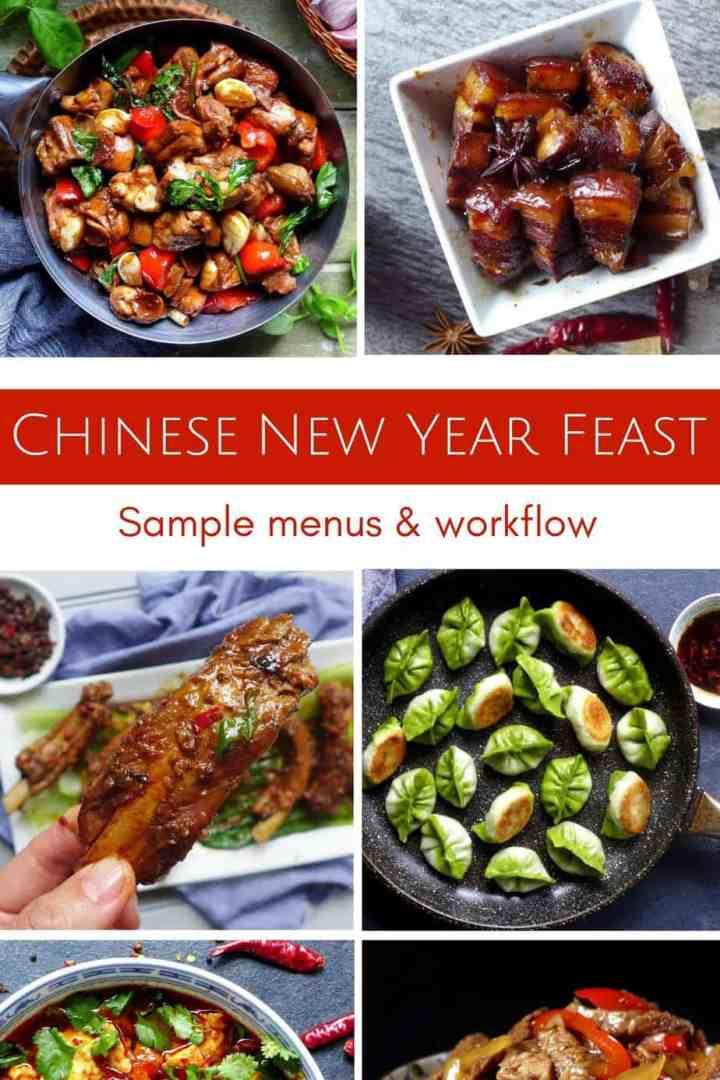 Three sample menus and a detailed workflow, this Chinese New Year Feast guide will help you to cook up a complete meal from scratch for this very special occasion.