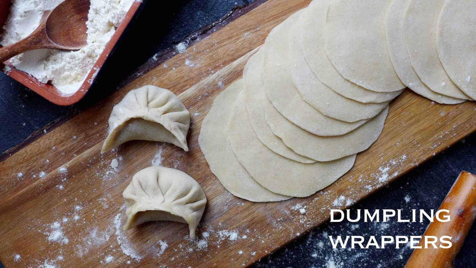 Homemade dumpling wrappers  (饺子皮)