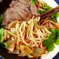 Hand-pulled noodles (La Mian, 拉面), a foolproof recipe