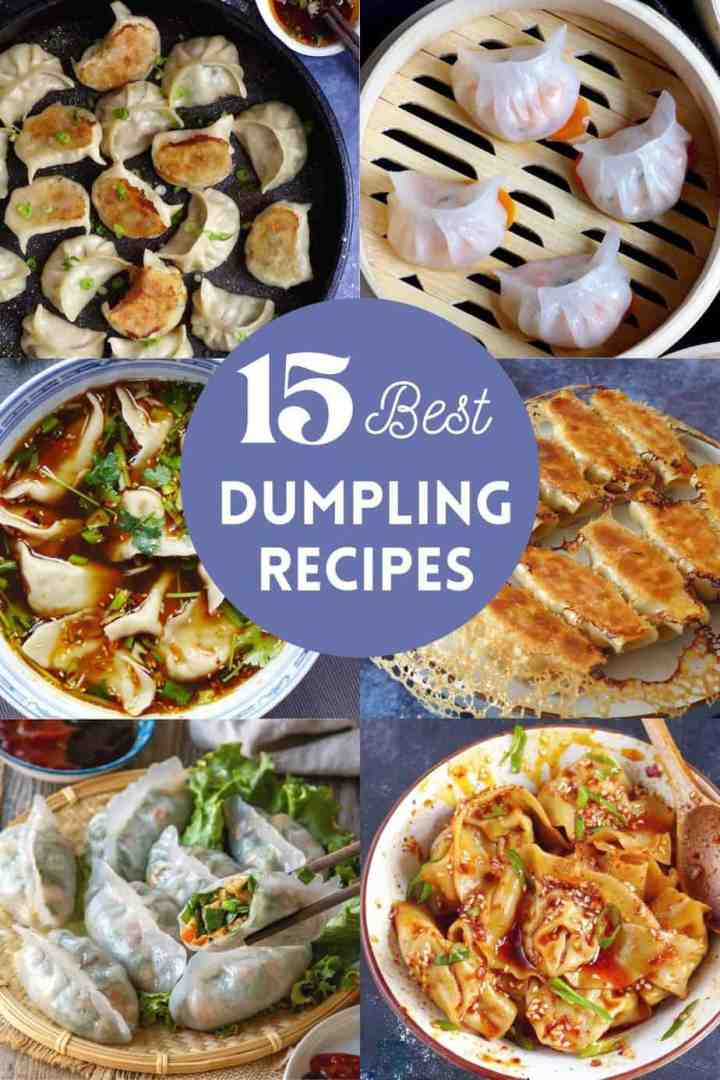 6 types of Chinese dumplings