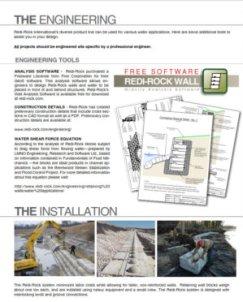 Redi-Rock Water Applications