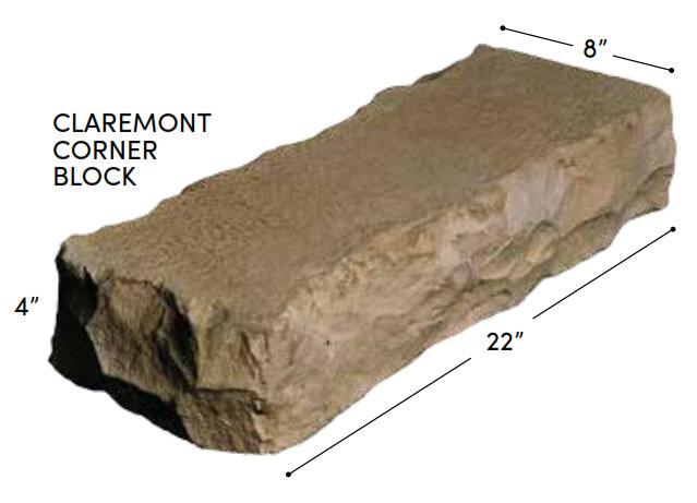 Rosetta Claremont Corner Block
