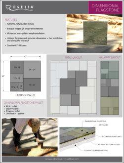 Rosetta Dimesional Info Sheet Thumbnail