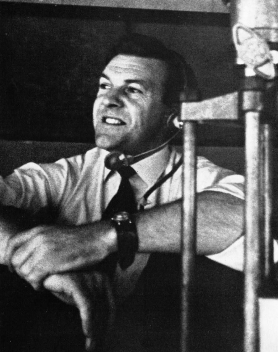 Boom operator, Pat Wheeler.