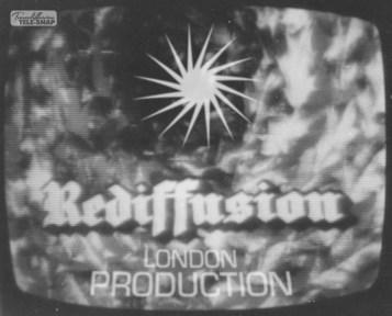 Rediffusion London Production at Christmas in 1967
