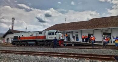 Jalur Cibatu – Garut Tersambung Seluruhnya, Lokomotif Uji Lintas Sampai Garut