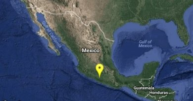 """ISMO Magnitud 5.2 Loc 24 km al SUROESTE de ARCELIA, GRO 16/05/18 09:20:29 Lat 18.18 Lon -100.47 Pf 54 km"""""""