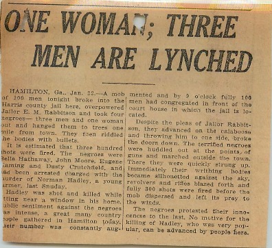 Newspaper clipping about the incident (NAID 583895) [Subject to copyright restrictions]