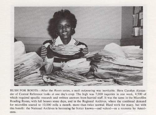 Pile+of+Reference+Letters+from+Roots+Phenomenon+-+NARS+Newsletter,+May+1977.jpg