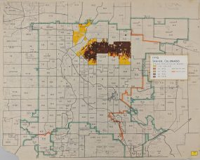 In addition to school statistics, the evidence also included general population demographics, as shown on this map.