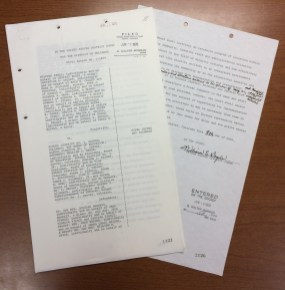 The Final Decree and Judgement signed by Judge Doyle.