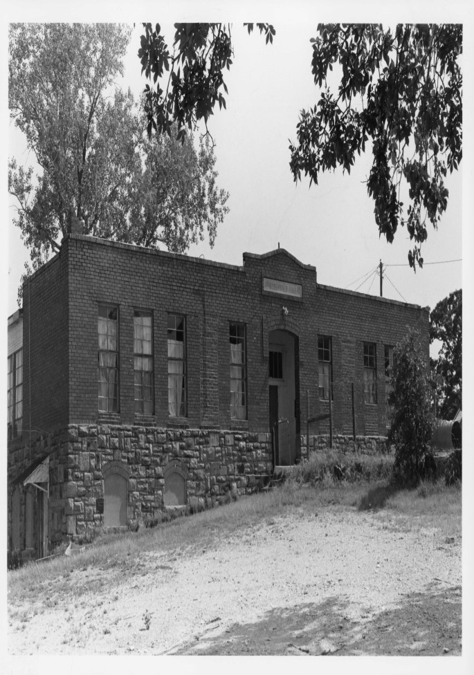 exterior of the brick built Rosenwald Hall