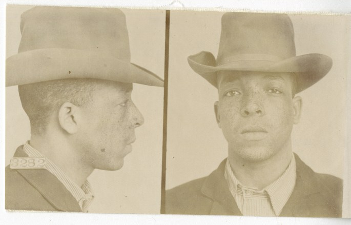 headshot of Ben Reeves wearing a cowboy hat and collared shirt, front and profile