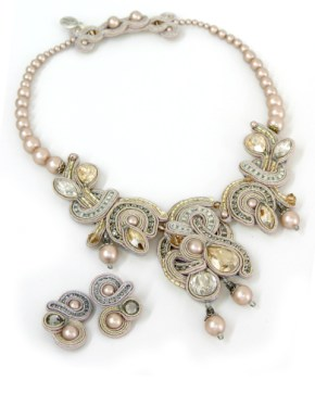 Dori Czengeri: Desiree Necklace and Earrings
