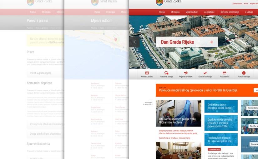 Prijedlog novog dizajna internet stranica grada Rijeke
