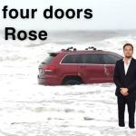 The RedJeepDorian - Got Four Doors Now Rose Meme