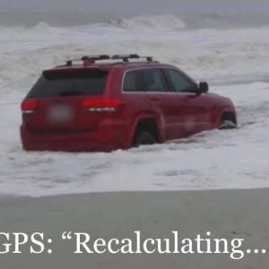 The RedJeepDorian - GPS Recalculating Meme