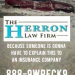 The RedJeepDorian - Herron Law Firm Because Someone's Gonna Have To Explain This To An Insurance Company Meme