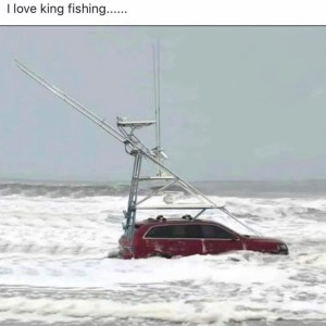 The RedJeepDorian - Love King Fishing Meme