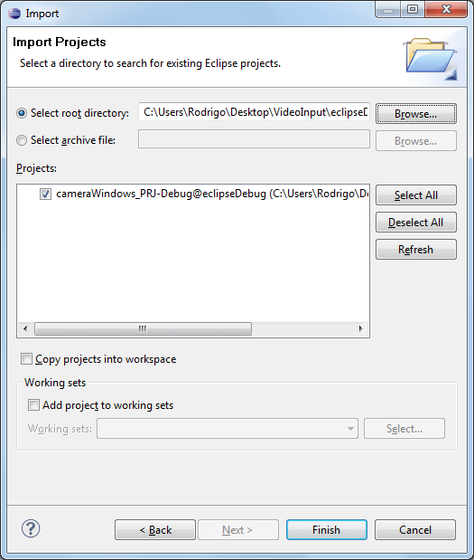 Capture Video with OpenCV and VideoInput (Windows only) (2/2)