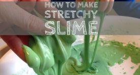 borax-free slime, slime recipe, how to make slime, goop, goo, homemade slime, slime tutorial