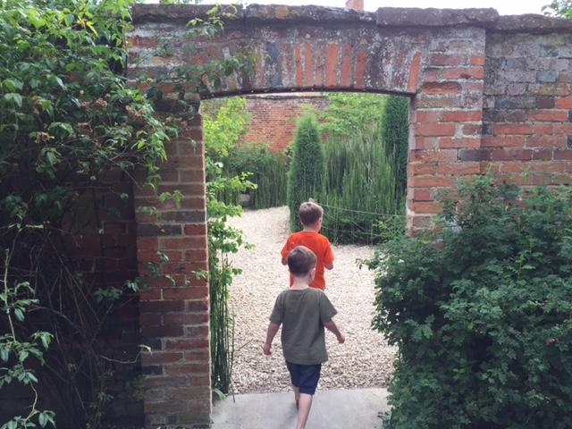 Oxfordshire museum walled garden