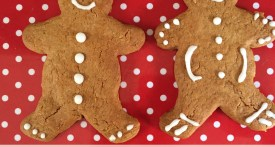 gingerbread men, recipe, kids, Christmas