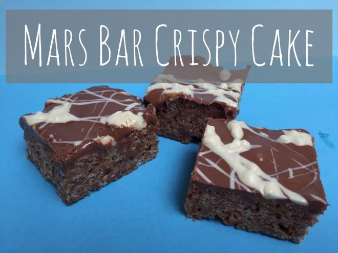 mars bar, crispy cake, fridge cake, bake sale