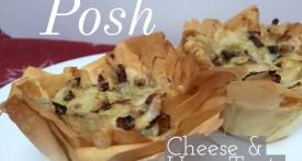 emmental, pancetta, filo, tart, cheese & ham, posh