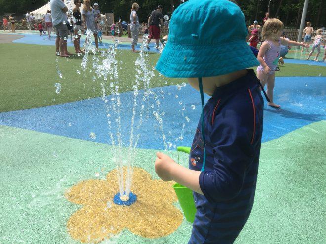 splash park near reading, Berkshire splash park, wellington country park
