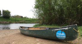 canoe river wye, family canoe trip river wye, canoe with kids river wye, canoe hire river wye