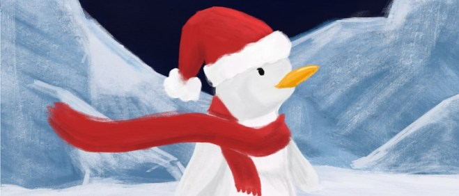 alby thepenguin saves christmas, oxford playhouse, 2018 christmas show, christmas theatre oxford