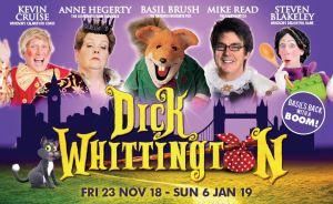 dick whittington, windsor pantomime 2018