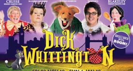 dick whittington, windsor pantomime 2018