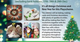 christmas holiday club, holiday playscheme