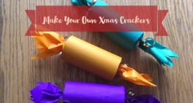 homemade christmas cracker, make your own christmas crackers, christmas cracker tutorial, DIY xmas crackers, toilet roll tube christmas crackers, kids crafts for christmas