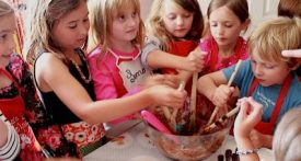childrens cookery class, italian cookery class, cookery class birthday party