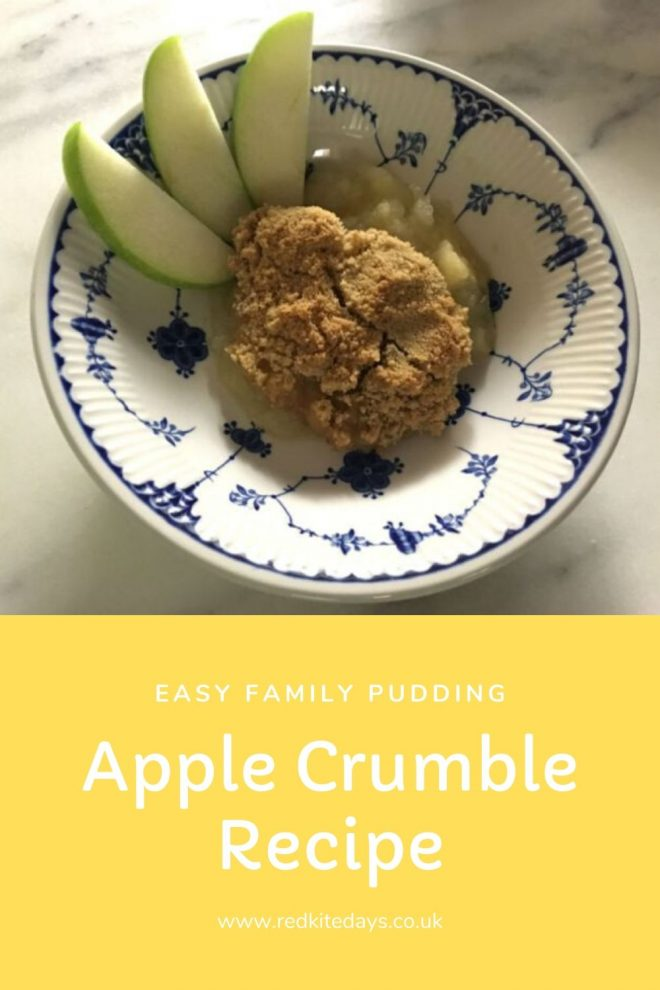 easy apple crumble, how to make apple crumble, apple pudding ideas
