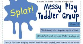 messy play headington, splat toddler group headington, toddler group headington, toddler groups oxford, wednesday toddler groups headington