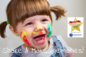 shake and make club, messy play cholsey, whats on for toddlers in cholsey, monday groups in cholsey
