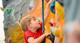 oxford brookes climbing wall, where can kids rock climb oxford, climbing walls for kids