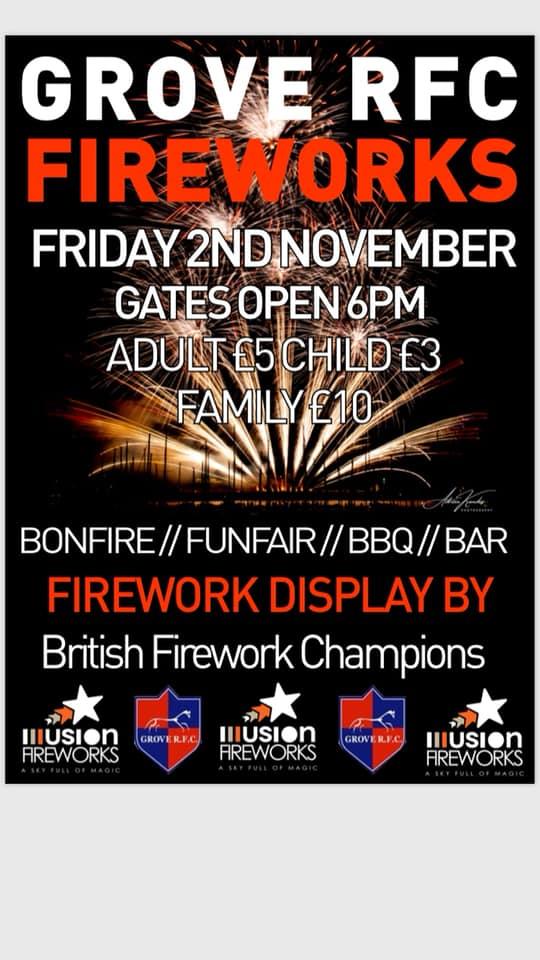 grove rfc fireworks 2018