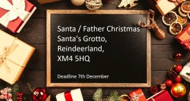 santa address, where to post letter to s