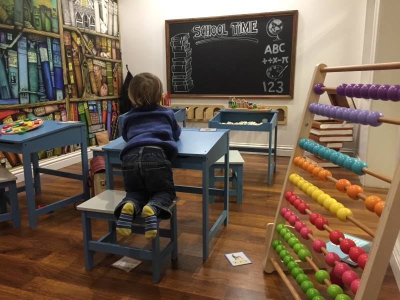childrens play village warwick, playcentre warwick, imaginative play village