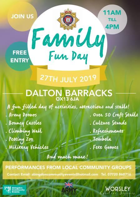 Dalton Barracks Fun Day - Red Kite Days