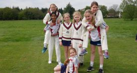girls cricket team, Oratory Prep cricket
