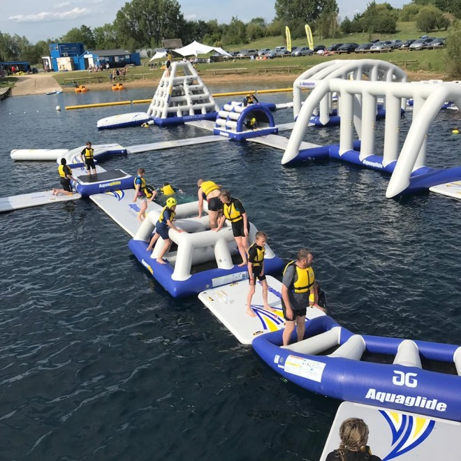oxford aqua park, outdoor swimming oxford, oxford wet n wild