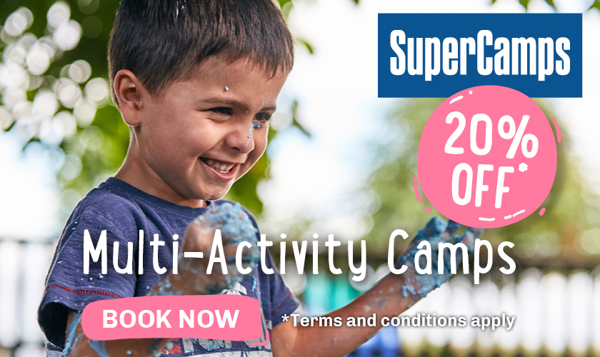 holiday clubs, school holiday childcare, super camps discount
