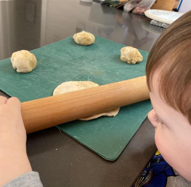 how to make flatbread, flatbread recipe, easy kids bread recipe