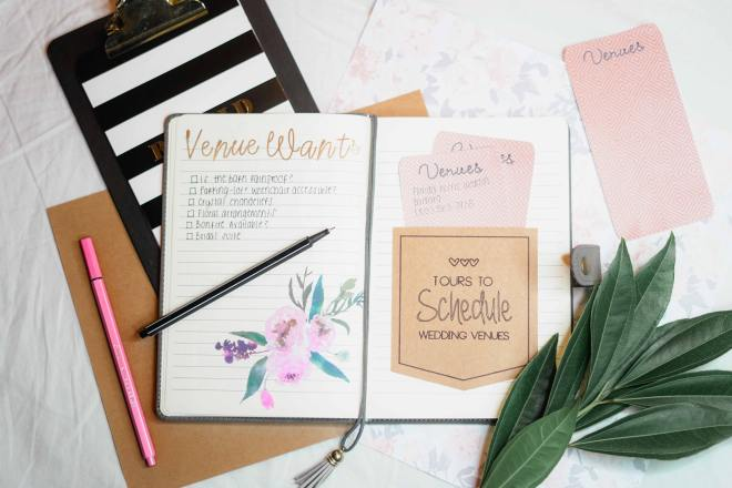 wedding planning budget